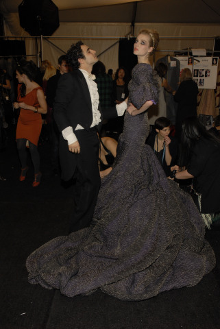 Zac Posen Fall 09 Gown